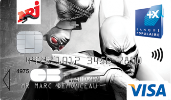 Carte NRJ Banque Pop