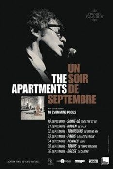The Apartments-tournée