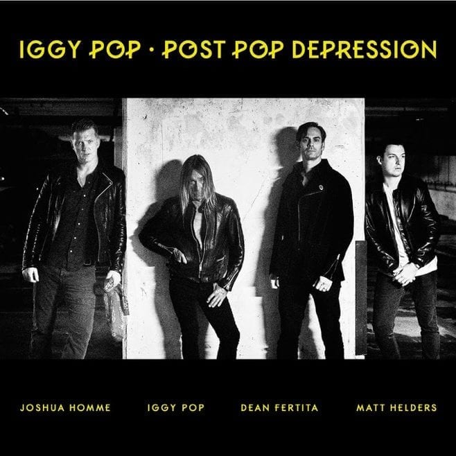 Iggy Pop Post Pop Depression pochette