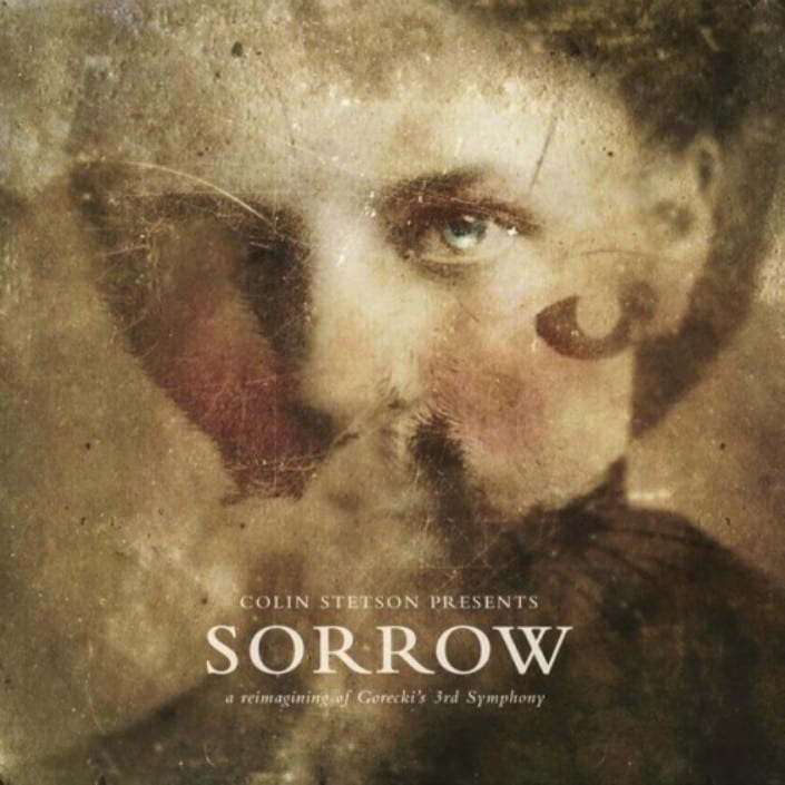 Sorrow, Colin Stetson, cover