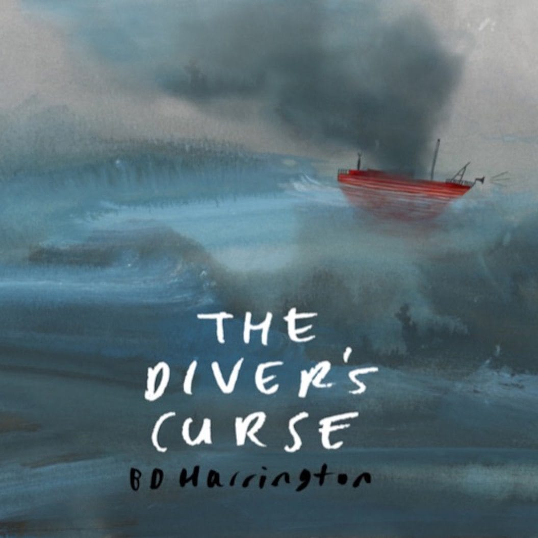 bd harrington, the diver's curse, cover