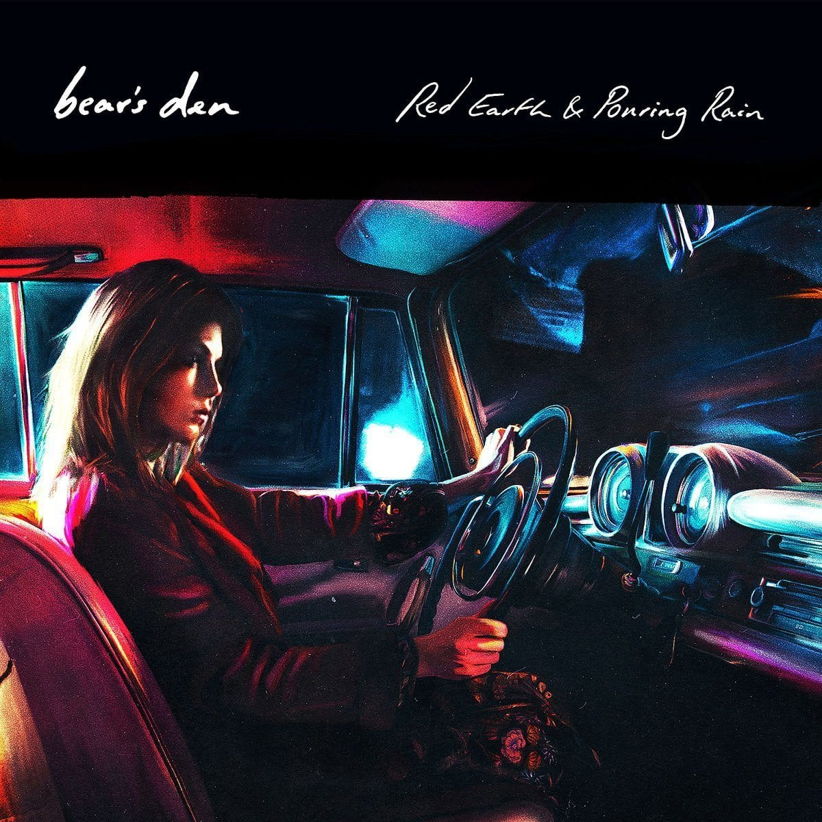 Bear's Den, Red Earth & Pouring Rain, cover