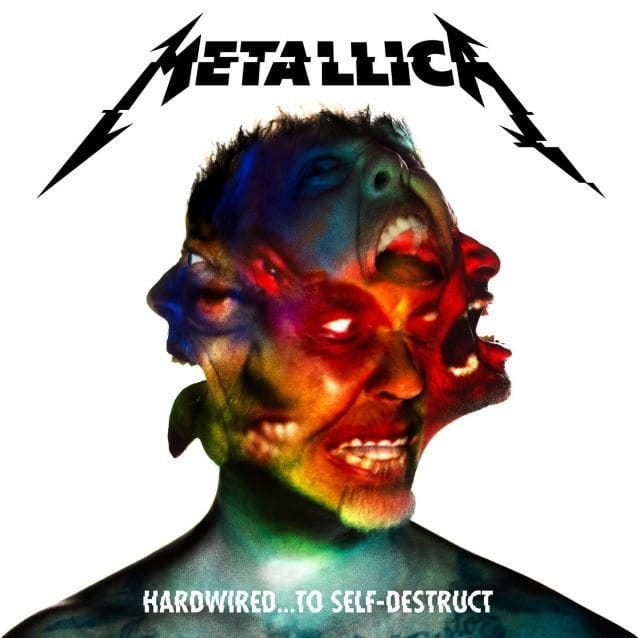 metallica, hard wired cd