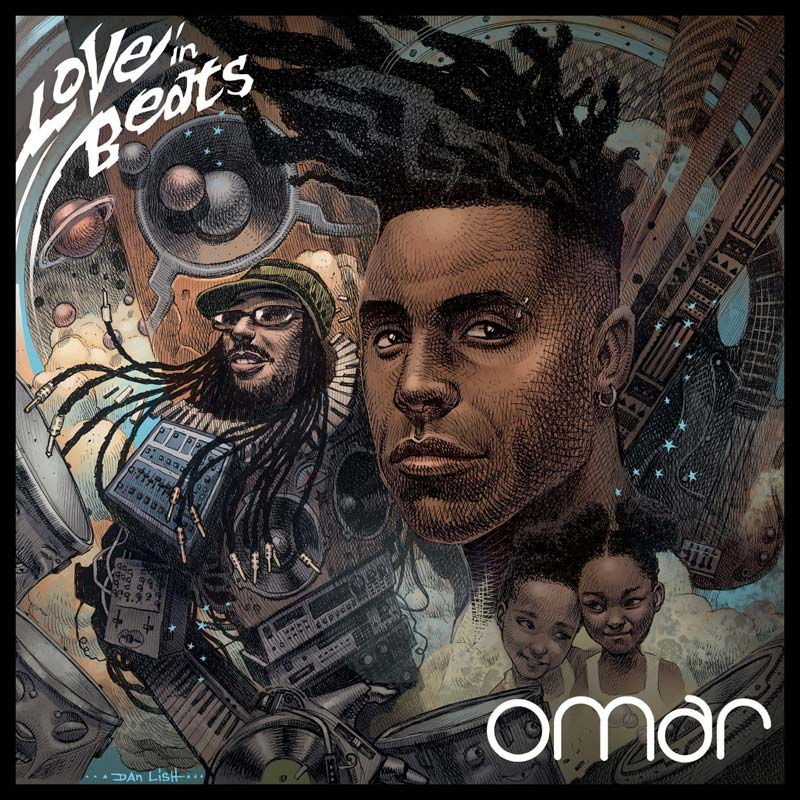 Omar, album, soul, love in beats