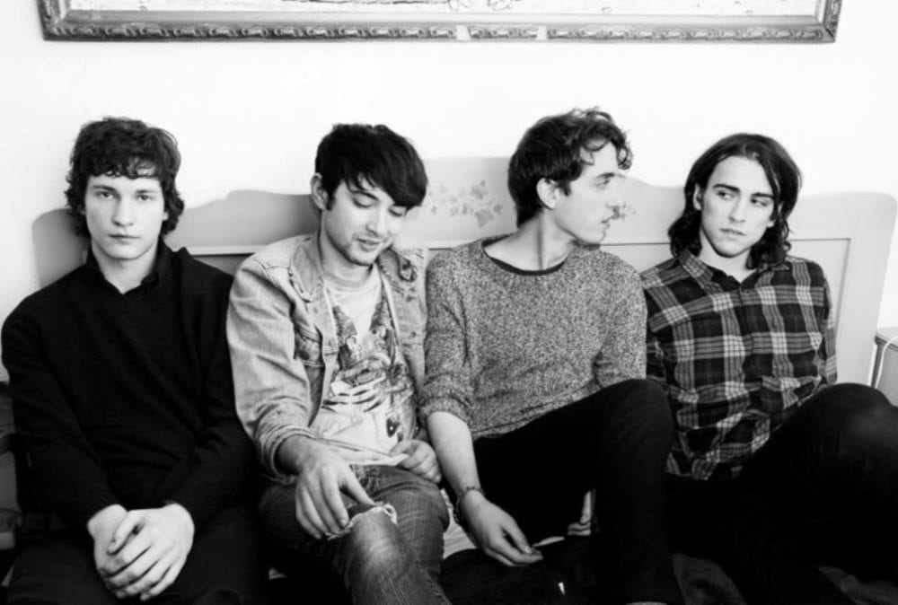 Beach Fossils, band, promo