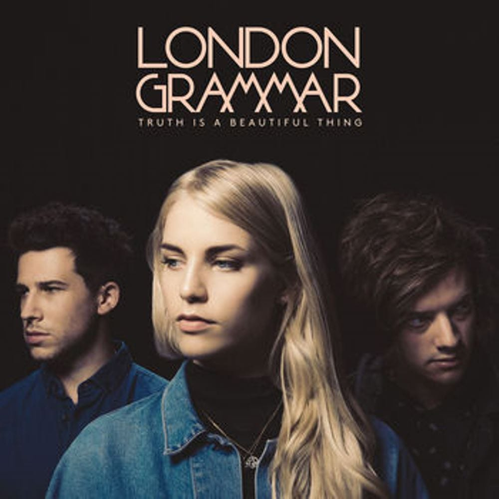 London Grammar, Truth Is A Beautiful Thing, cover