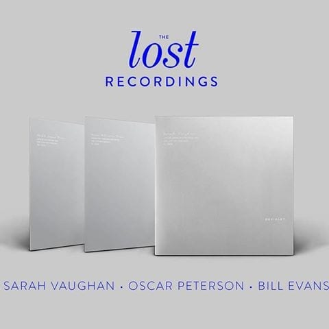 Sarah Vaughan Oscar Peterson Bill Evans devialet lost recordings
