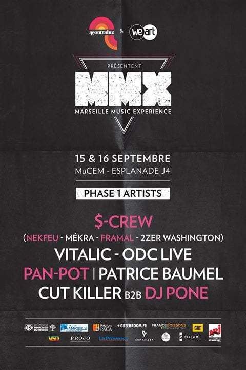Line Up MMX programmation
