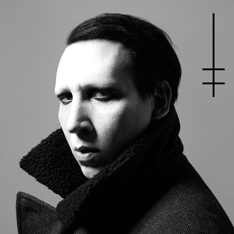 Marilyn Manson, Heaven Upside Down, cover