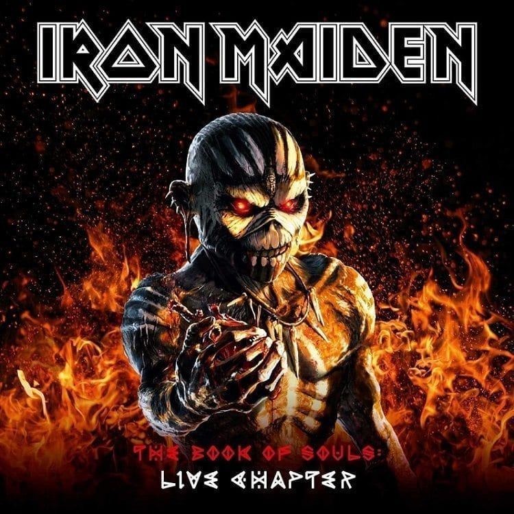iron maiden, the book of souls,live chapter, cover