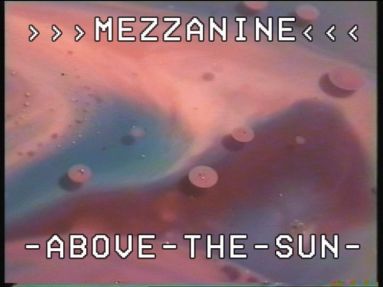 Mezzanine, Above The Sun