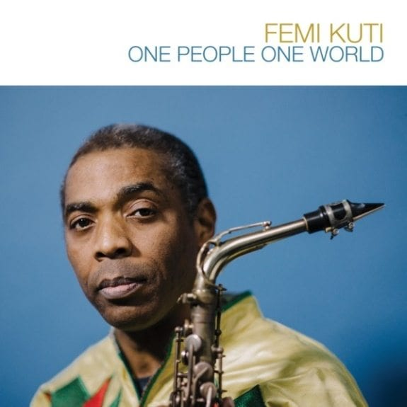 Femi Kuti, One People One World, cover