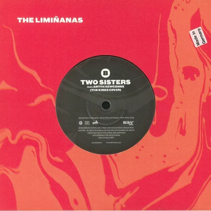 The Limiñanas,two sisters,cover